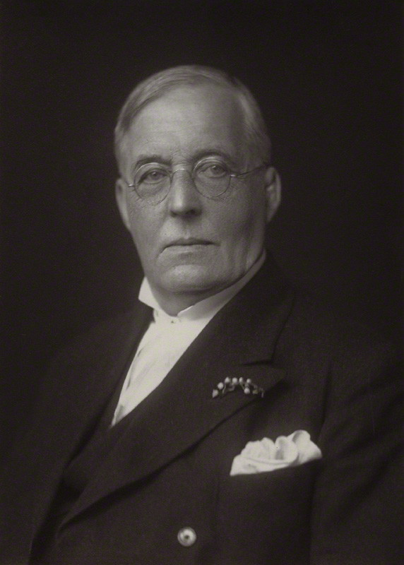 Montague Rhodes James, by Walter Stoneman, 1930