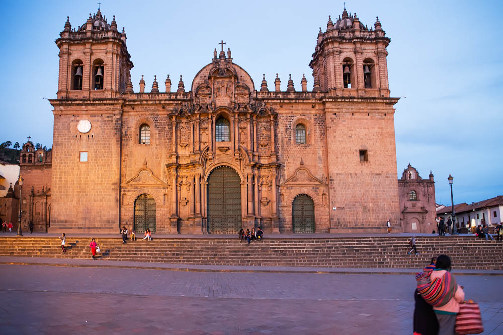 Cathedral in Cusco