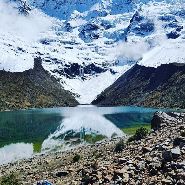 Visit one the most beautiful lakes in the Peruvian Andes, HUMANTAY LAKE!!#valentinspachamamajouneys #treking #camp #sacredvalleyperu #hiking #foto #cusco #peru #southamerica #america #pachamama #fotografieren