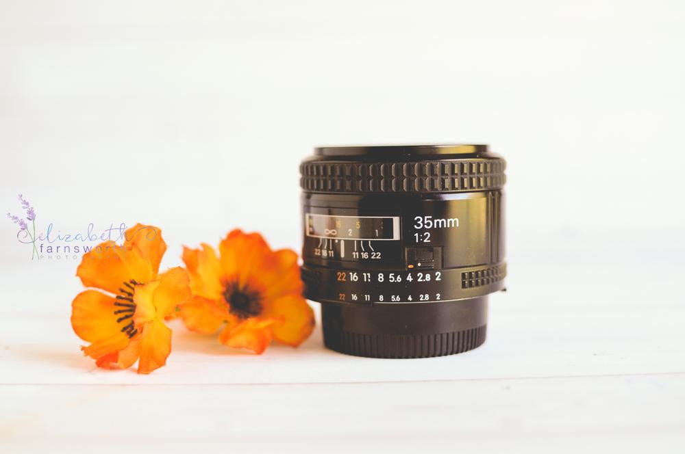 Nikkor 35mm f2 camera lens Elizabeth Farnsworth Photography © Roanoke, VA photographer