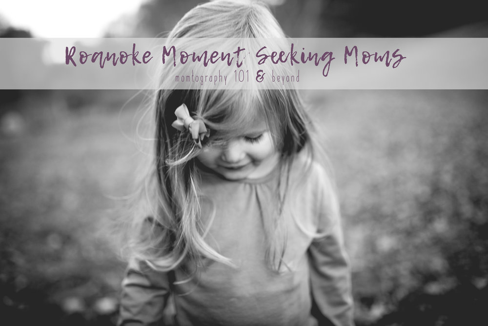 roanoke photography class for moms