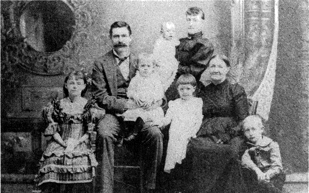 Columbia Historical Society - Image of family dated 1890s.