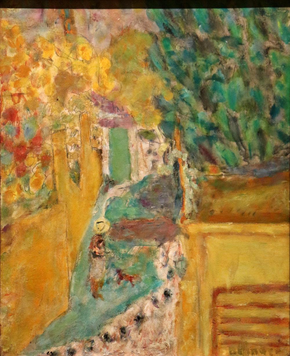 Pierre Bonnard,  L'escalier du Cannet, Musée Granet, wikimedia.org