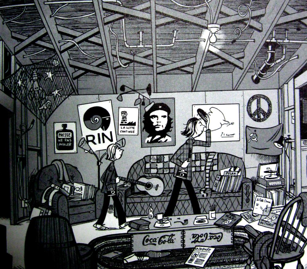 Illustration du livre Paul au parc (2011) de Michel Rabagliati.