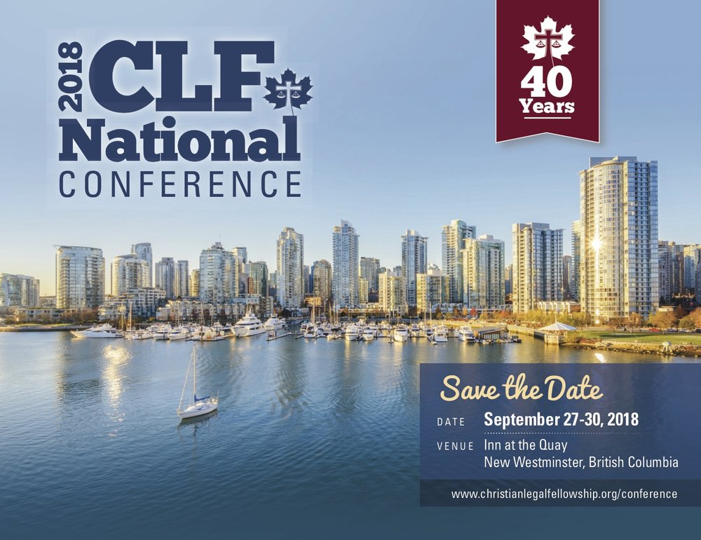 Learn more about CLF's upcoming 2018 National Conference in New Westminster, British Columbia.