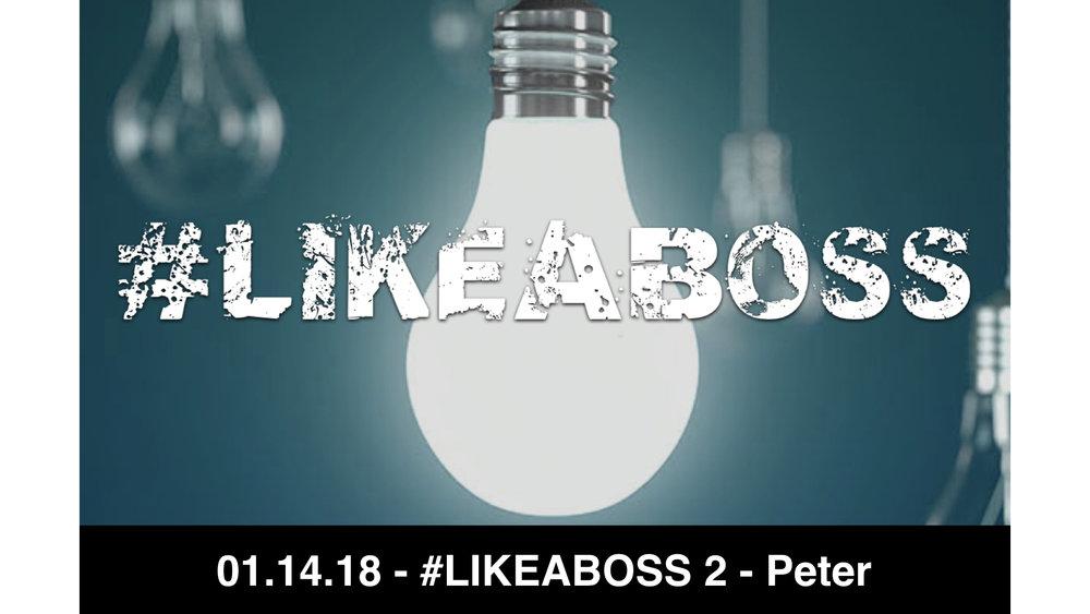 01.14.18 - #LIKEABOSS