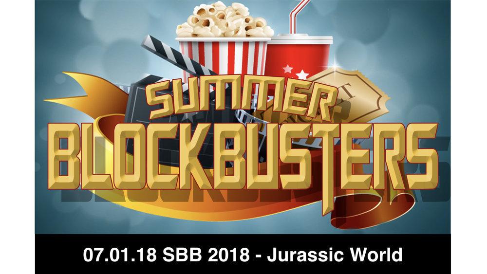 07.01.18 SBB 2018 - Jurassic World