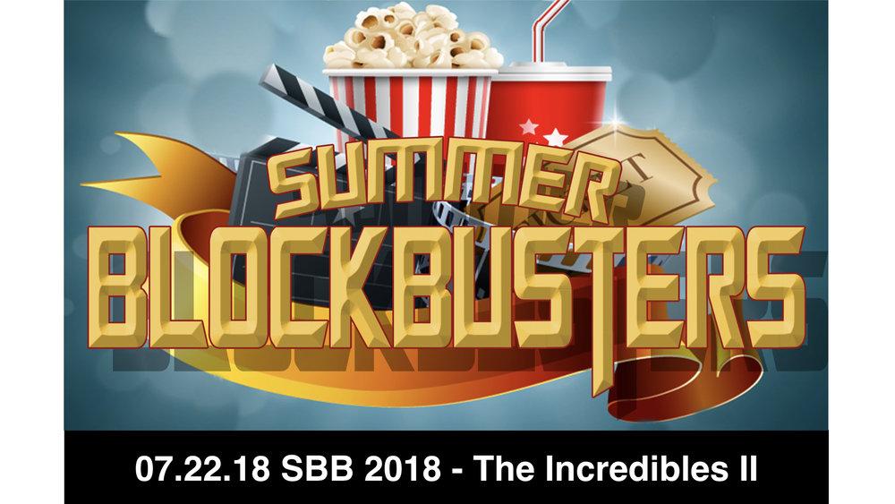 SBB 2018 - The Incredibles II