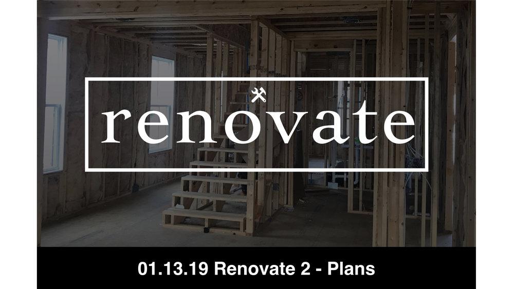 01-13-19 Renovate 2 - Plans