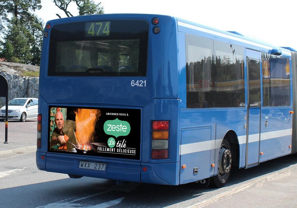 Zeste Bus poster Ottawa