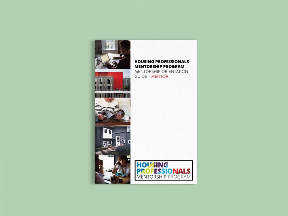 Housing-Professionals-Mentorship-Program-Orientation-Guide-Front Cover Design