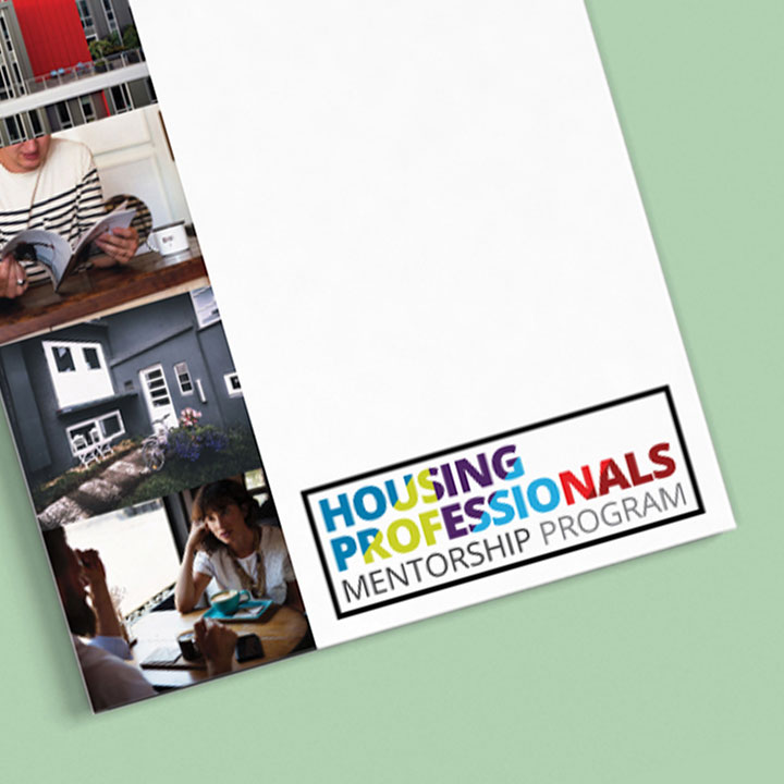 Housing Professionals Mentorship Program - Mentee Cover with logo
