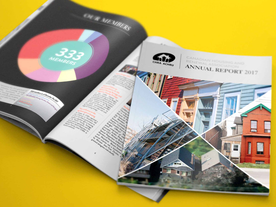 CANADIAN HOUSING AND RENEWAL ASSOCIATION - Annual Report Design