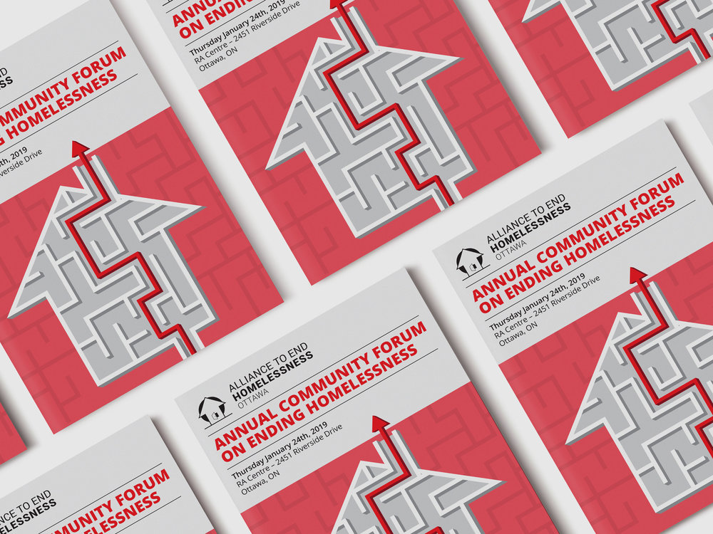 Program Design - Program for The Alliance to End Homelessness Ottawa (ATEHO) annual community forum.