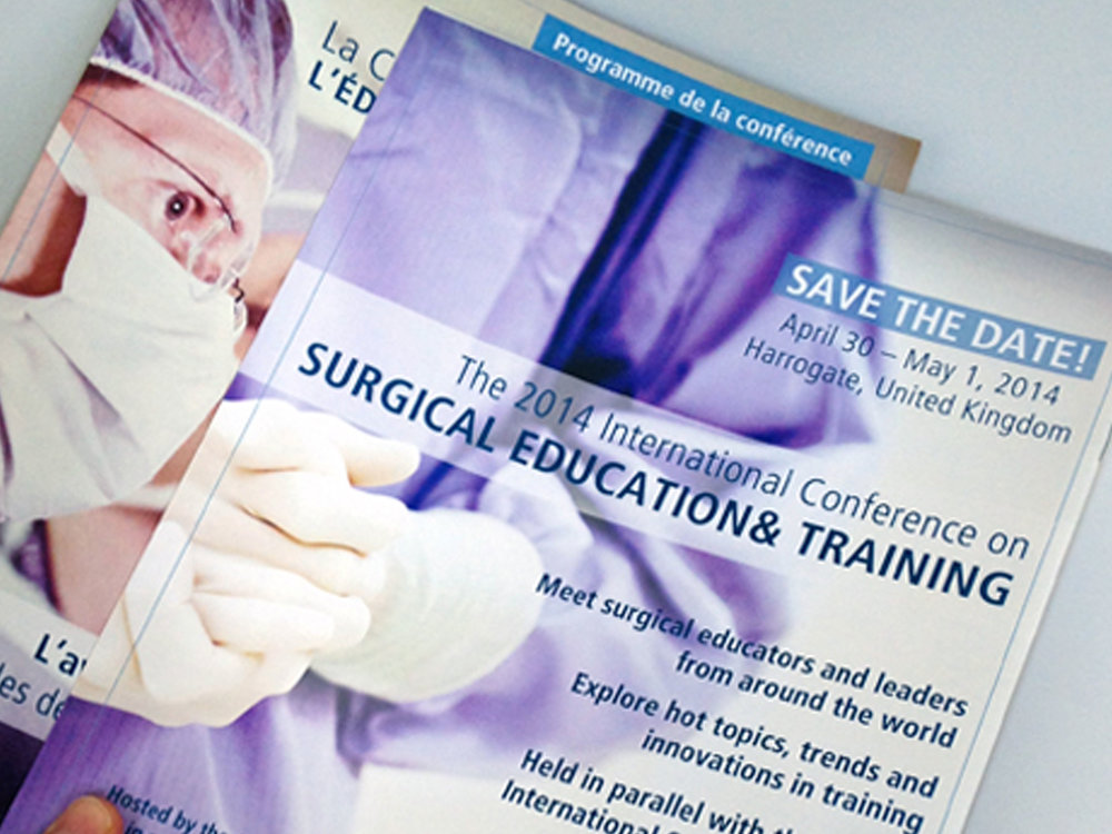 Brochure Design - Brochure design for The Royal College of Physicians and Surgeons of Canada.