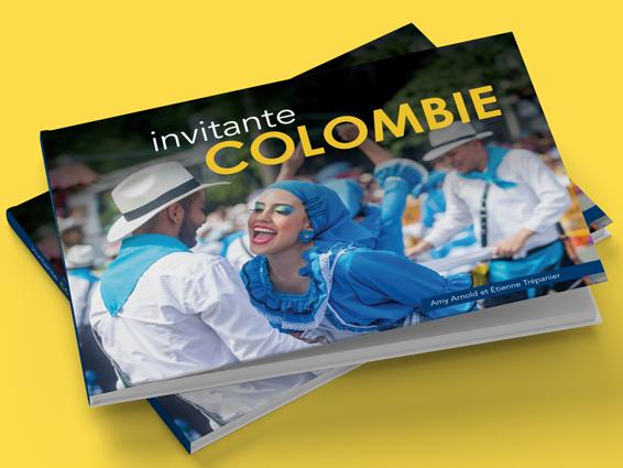 Invitante Colombie - Travel book design