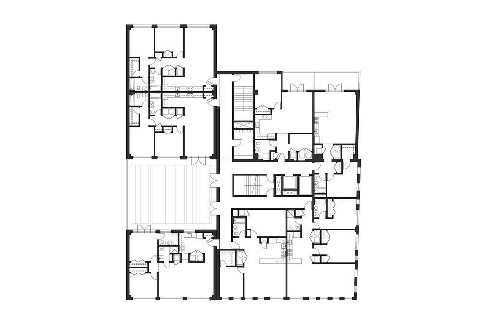 Floors 2 - 4