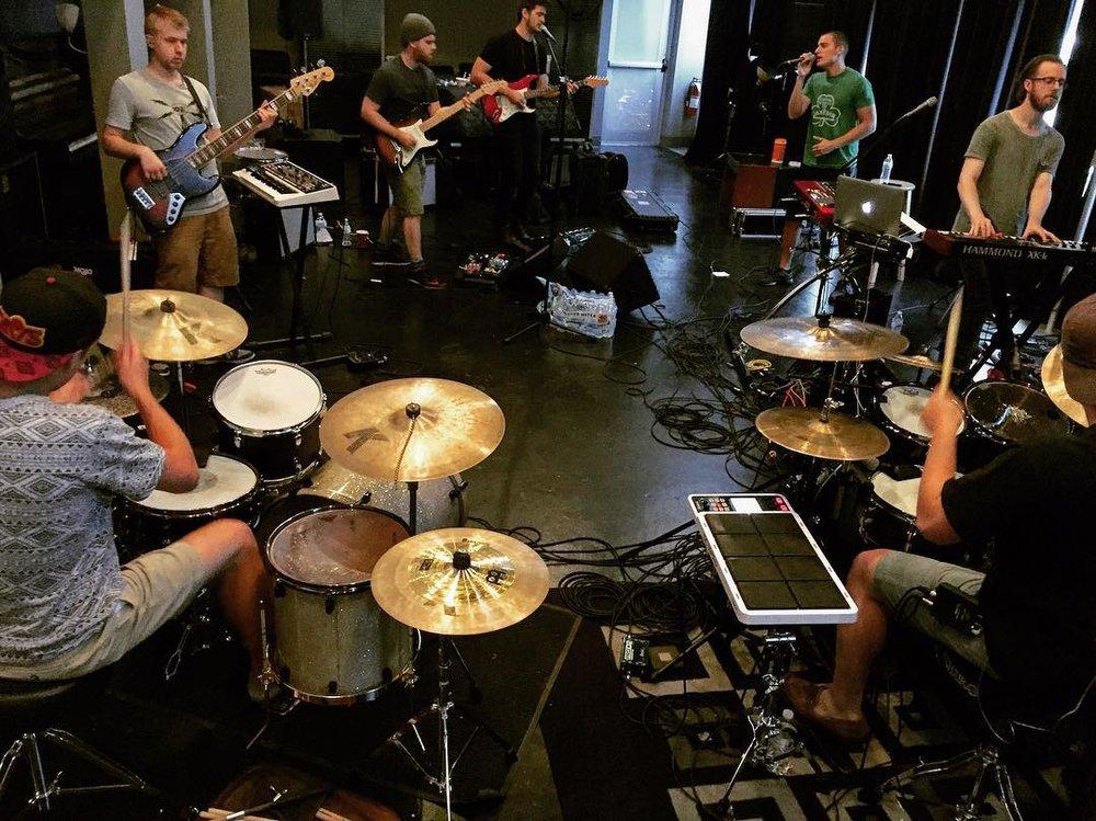 Rehearsal w/ Chris Jamison