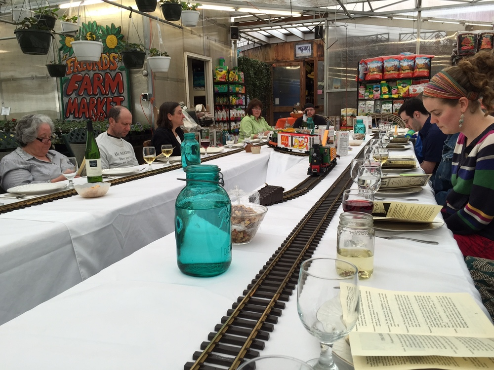winter events in the greenhouse
