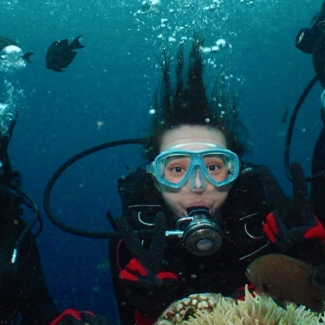 Diving in Okinawa