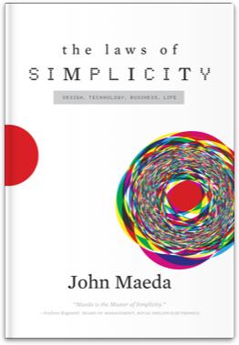 By John Maeda 《簡單的法則》