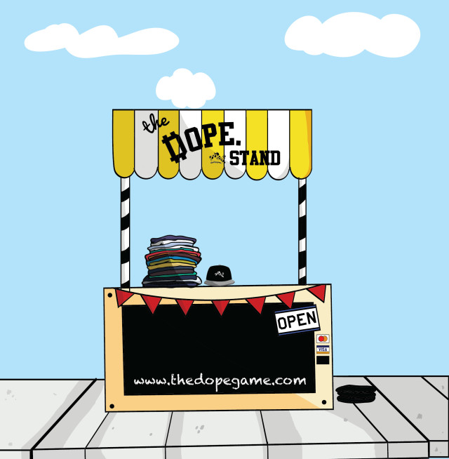 Dope-Stand-Square