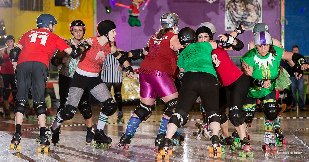 'Tis the Season - The holidays are right around the corner and Richmond's own River City Rollergirls happily announces the return of the