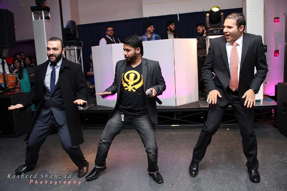 quick dance attempt during hunter college's bhangra bash