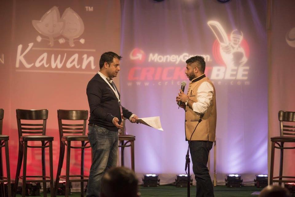 on the cricket bee set with ceo of touchdown media, rahul walia