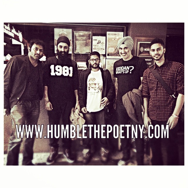 pre-event for humble the poet in nyc