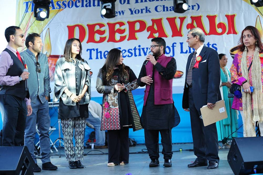 hosting aia-ny's deepavali @ south street seaport