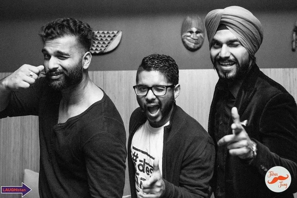 with Jabar Singh & Param Singh