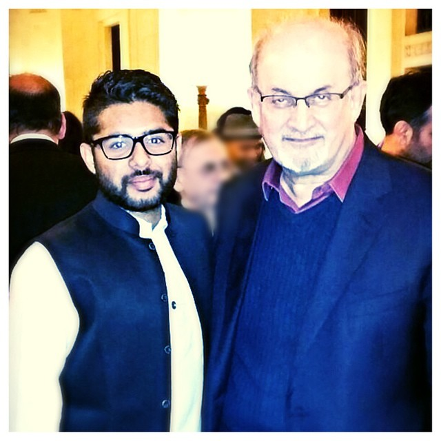 post-interview with salman rushdie