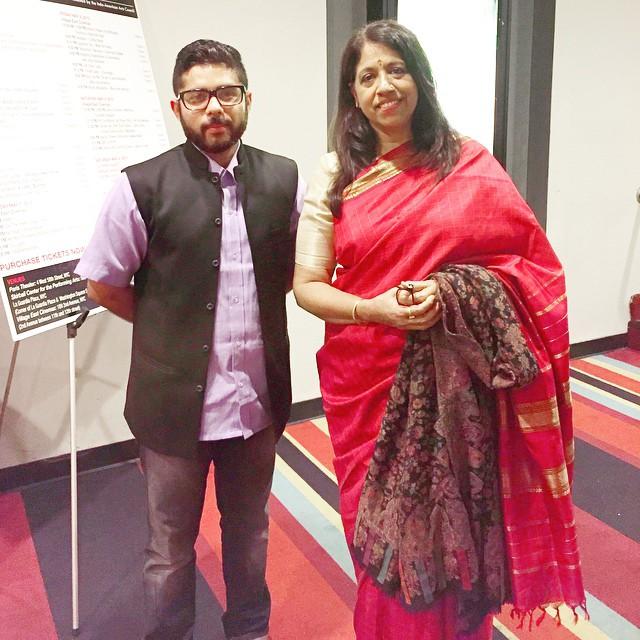 with kavita krishnamurthy