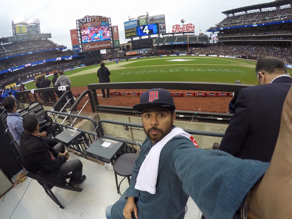 at the cricket all starts match - citi field, new york