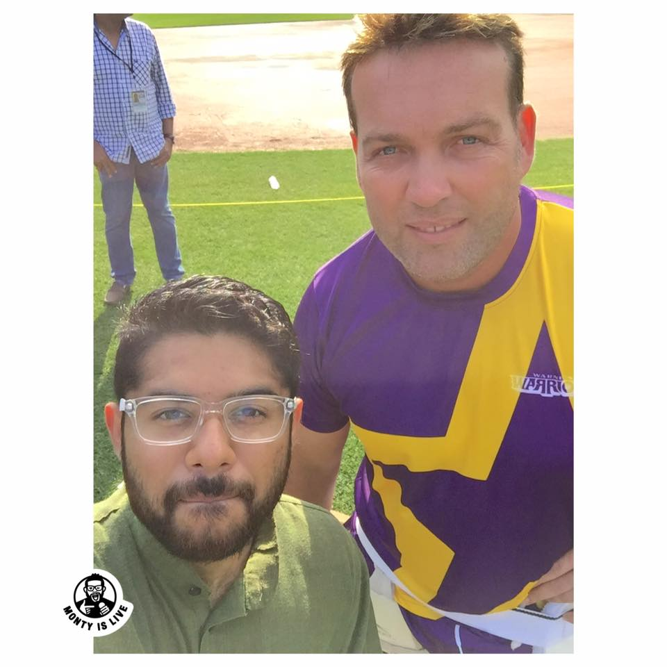 with cricketer jacques kallis
