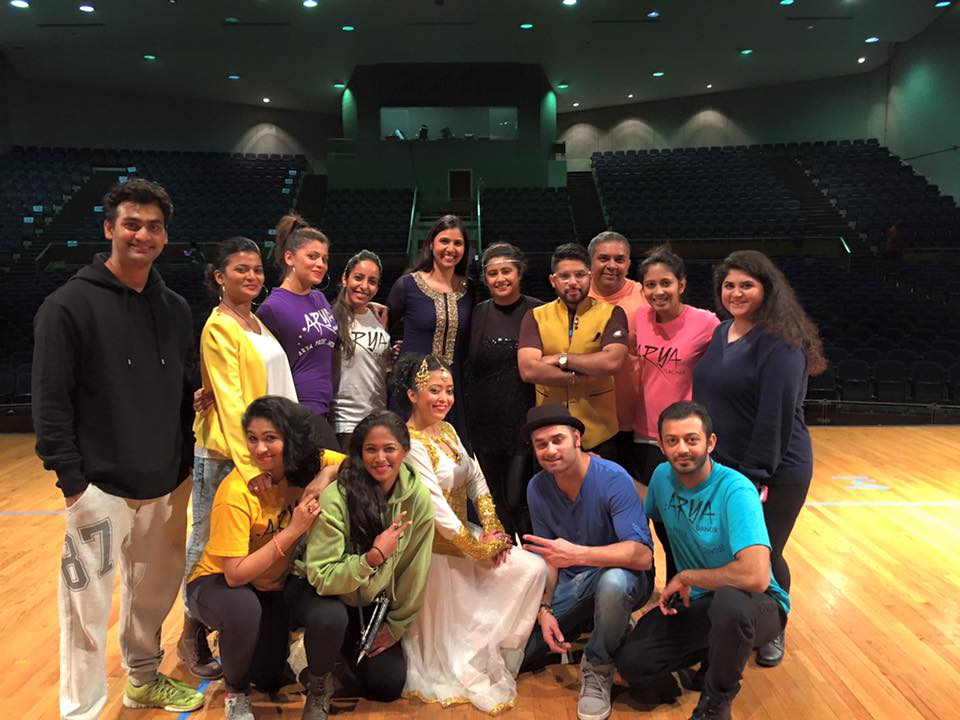 post-event with arya dance academy