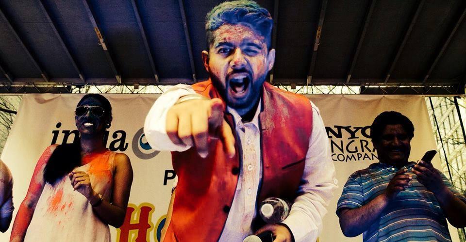 hosting holi hai by nyc bhangra