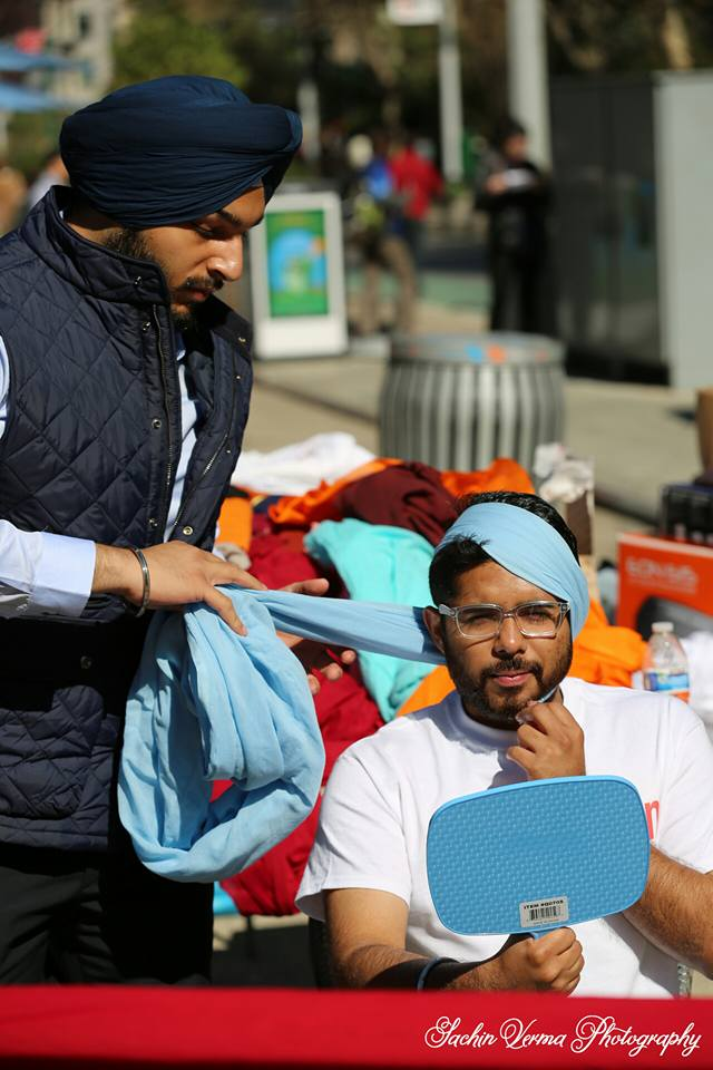 turban day at the madison square park in nyc
