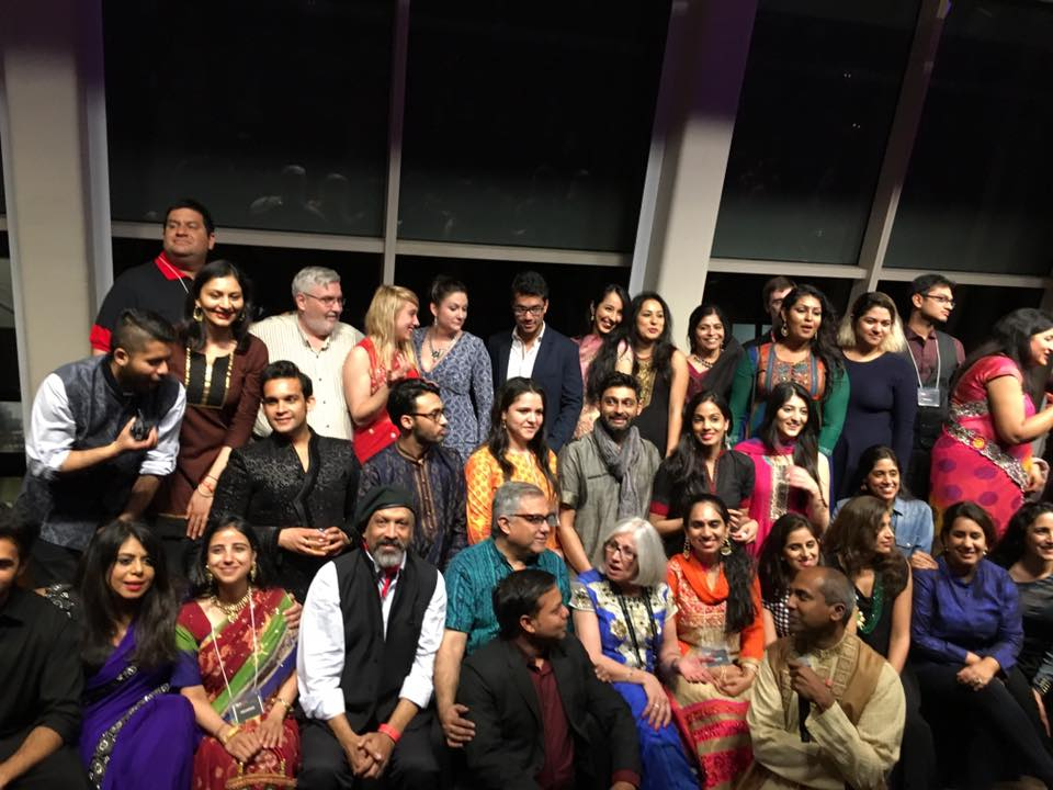 with the volunteers, staff and crew of the new york indian film festival