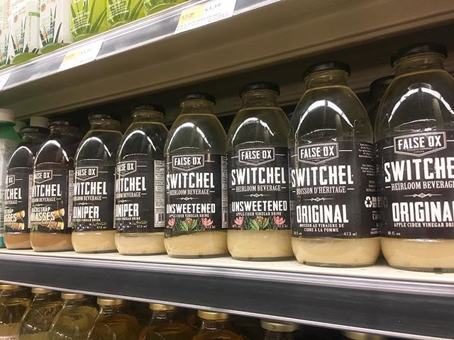 Stop by @wholefoods in Yorkville and try some #switchel 11-3!!!