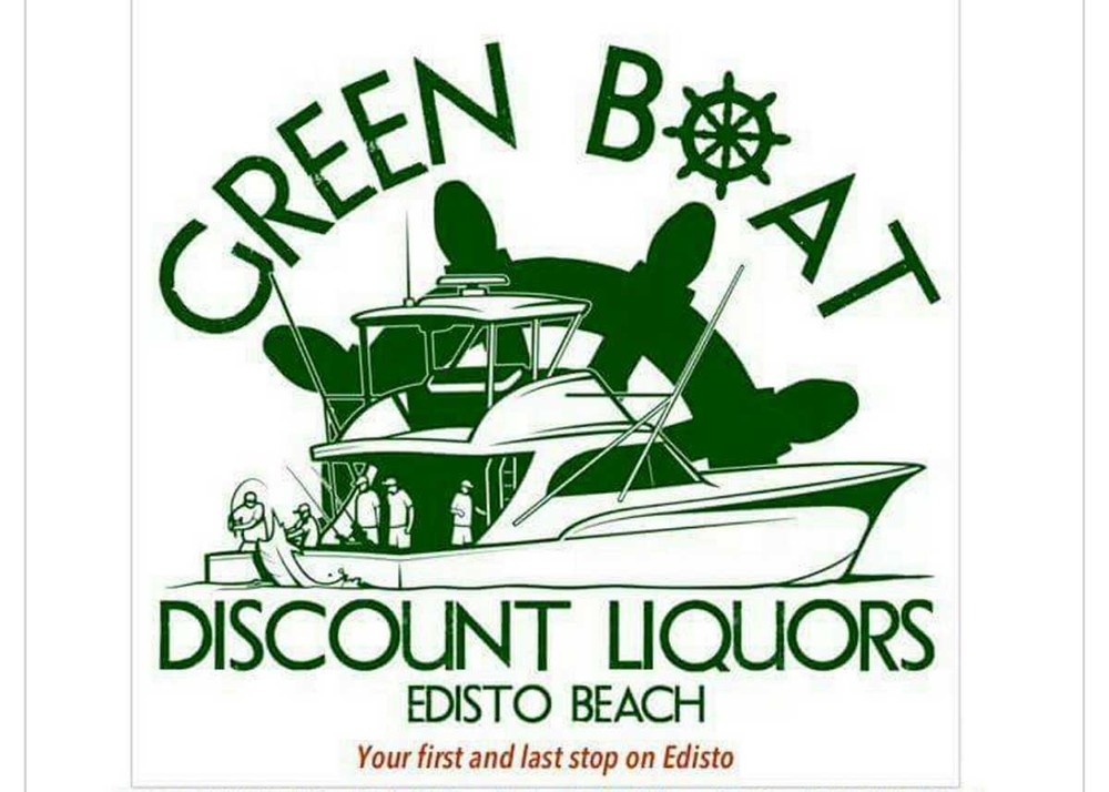 Green Boat Discount Liquors on Edisto Beach.