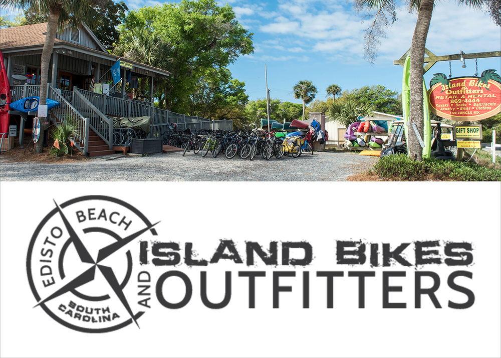 Exterior of Island Bikes and Outfitters, Edisto Beach, SC