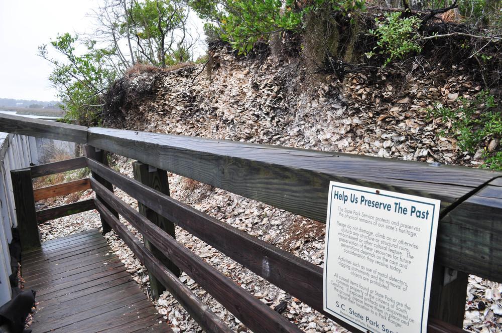 The Edisto Mount at the Edisto Beach State Park