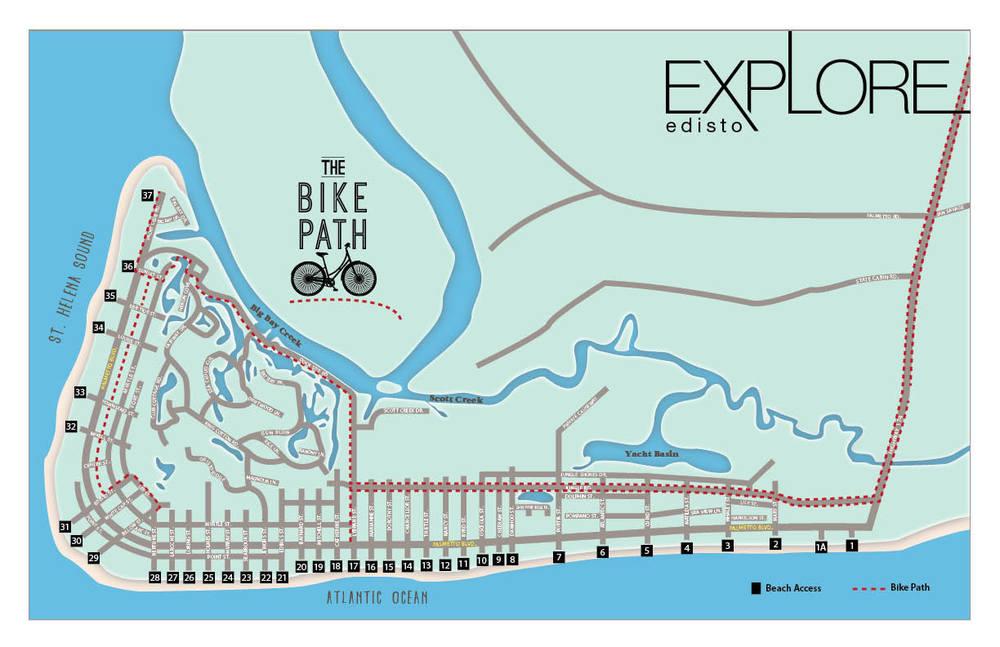 Bike Paths Of Edisto Explore Edisto