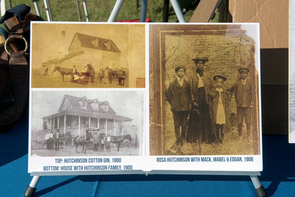 Old photos of the Hutchinson House and family members from the early 1900's.