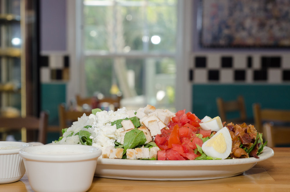 The Moo Cobb Salad at the SeaCOW Eatery