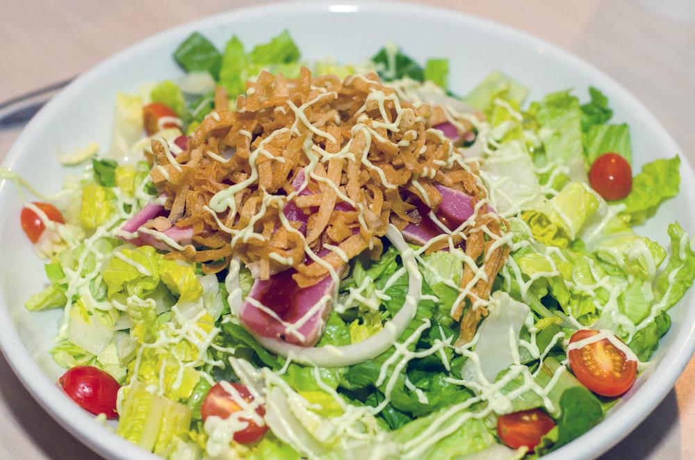 Ahi Tuna Salad at Whaley's