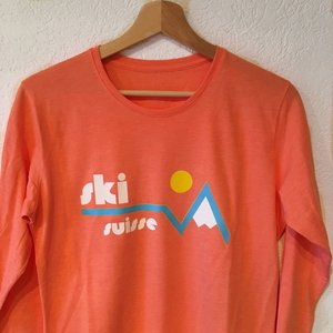 689a411b Ski Suisse long-sleeved - red, coral