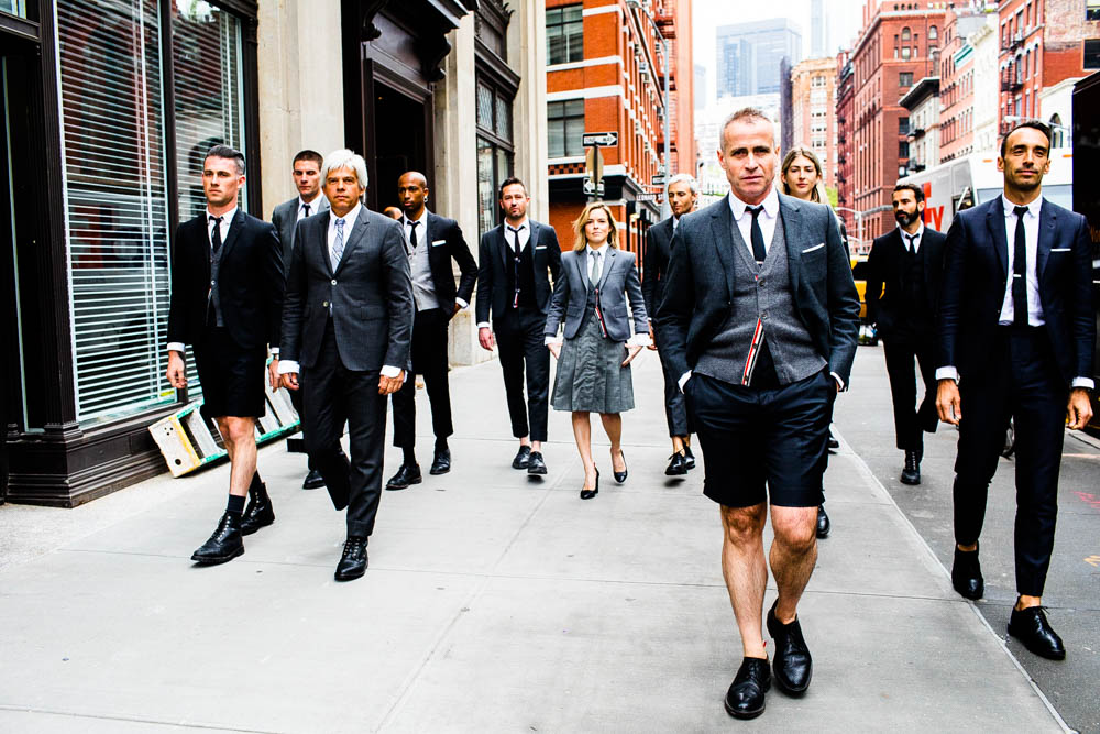 June 27 - The New York Times :    Landon photographs Thom Browne